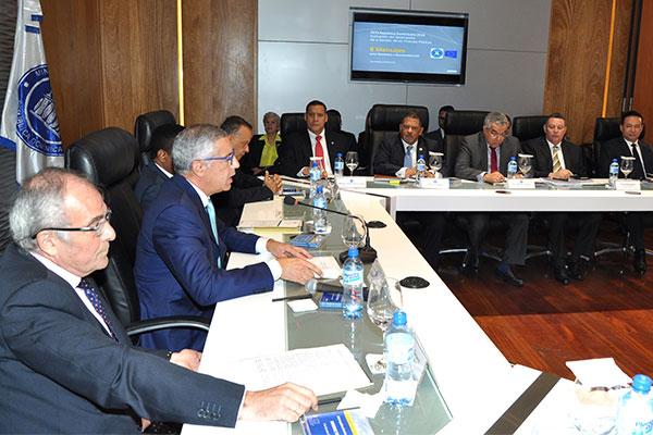 Ministro de Hacienda realiza encuentro con organismos de cooperación internacional