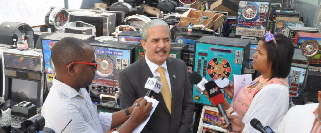 ministerio hacienda destruye equipos juegos de azar