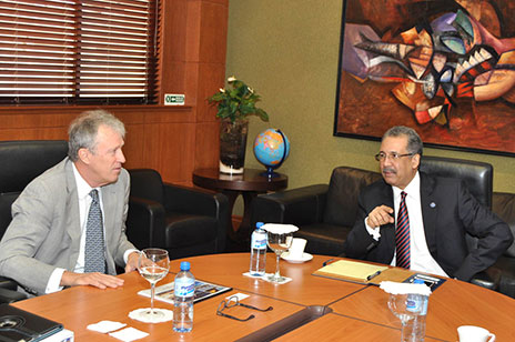 El ministro de Hacienda se reúne con delegación del Banco Centroamericano de Integración Económica