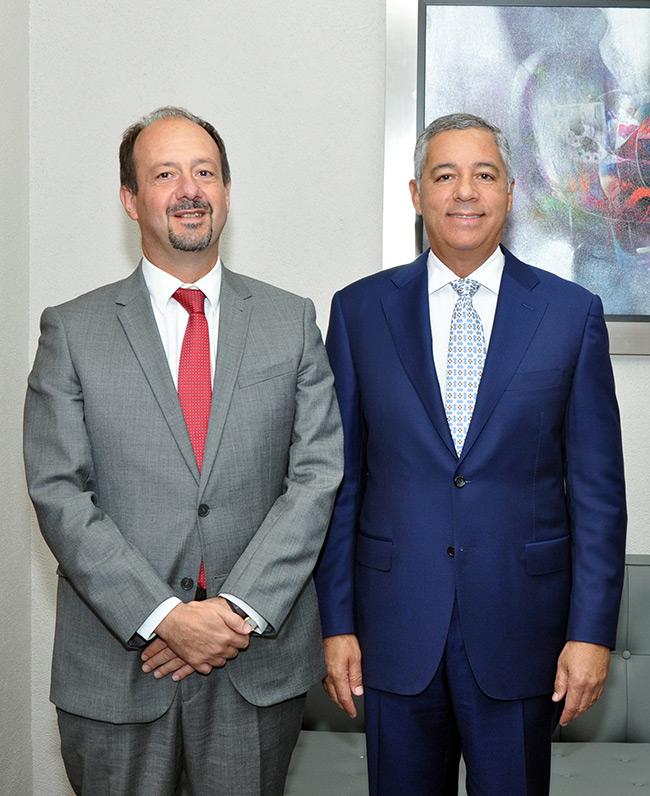 Embajador de Francia y Ministro de Hacienda