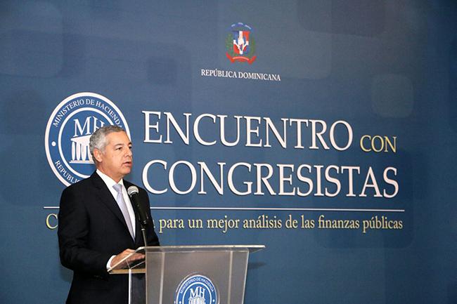 ministerio de hacienda y congresistas