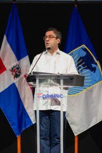 El presidente del Grupo BID, Luis Alberto Moreno, durante su exposición en el evento.