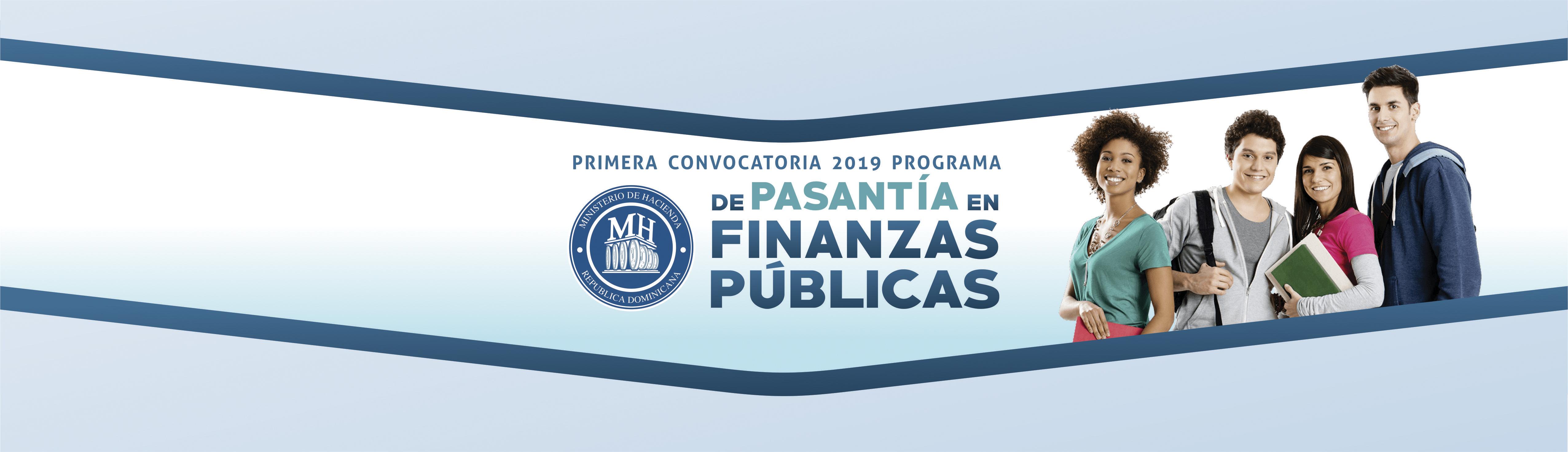 BANNER CONVOCATORIA PASANTIA FINANZAS PUBLICAS