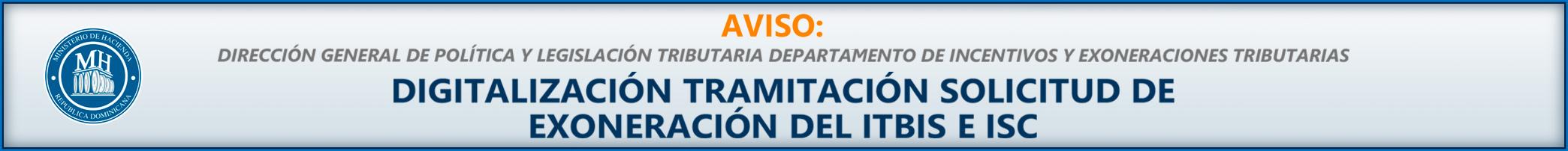 Aviso digitalizacion banner