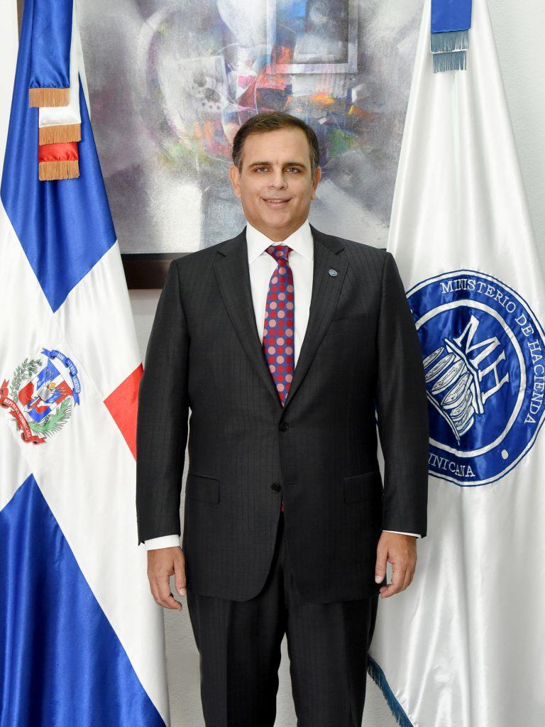 Ministro de Hacienda José Manuel Vicente Dubocq