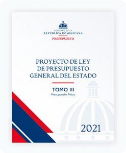 tomo III Proyecto de Ley de Presupuesto General del Estado