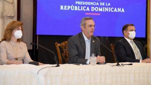 Raquel Peña, Luis Abinader y Jochi Vicente