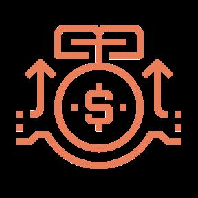 icono servicio beneficio reinversion